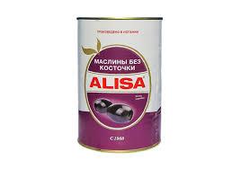 Маслины <b>Alisa</b> целые без косточки <b>350гр</b> ж/<b>б</b> — купить <b>в</b> ...