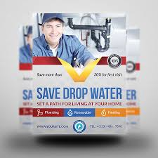 plumber service flyer template by owpictures graphicriver plumber service flyer template