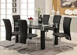 formal glass dining room set