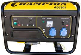 Купить <b>Бензиновый генератор CHAMPION GG3301</b>, 220 В, 3.1кВт ...