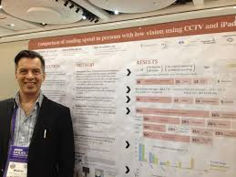 assessment of the apple ipad as a low vision reading aid mab comparison of reading speed in persons age related macular degeneration using cctv and ipad annual meeting of the frq s vision research network