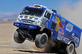 Team KAMAZ Master leads the Dаkаr-2015 <b>off</b>-<b>road</b> truck competition