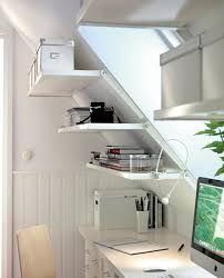 furniture bookshelf and file cabinet attic office ideas