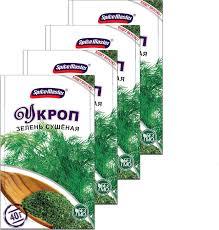<b>Укроп сушеный Spice Master</b>, 40 г х 4 шт — купить в интернет ...