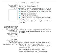 europass curriculum vitae example   free samples   examples    europass curriculum vitae example