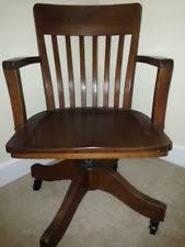 antique swivel desk chair solid oak new lower price antique leather office chair