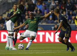 adi sets timbers career goals record in road win sports 1 2 portland timbers defender roy miller 7 flips the ball behind his back as philadelphia union defender richie marquez defends during an mls soccer