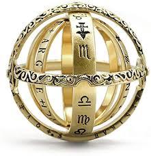 YSX Astronomical Sphere Ball Ring Cosmic Finger ... - Amazon.com