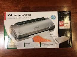 Обзор от покупателя на <b>Вакуумный упаковщик CASO VC</b> 10 ...