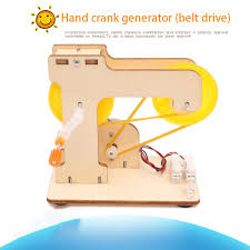 <b>Diy technology small production</b> hand crank power generation ...