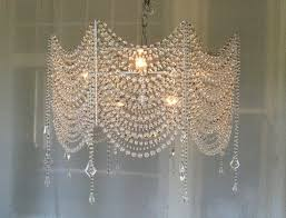 small bathroom chandelier crystal ideas: diy crystal chandelier  diy crystal chandelier