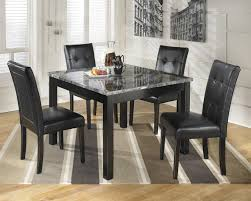 Square Dining Room Table Sets Maysville Square Dining Room Table Amp 4 Side Chairs D154 225