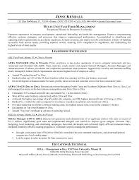 resume examples for fast food  fast food worker resume  fast food    fast food manager resume examples