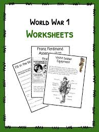world war i  ww   worksheets  facts  amp  information for kidsdownload the world war i worksheets  amp  facts