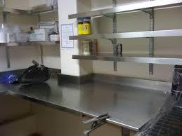 stainless steel kitchen shelves bookcase ideas