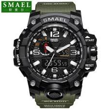SMAEL Brand Dual Display Watch Fashion Waterproof ... - Vova