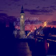 Disney Quotes About Goodbye. QuotesGram
