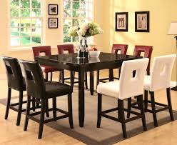 high pub dining table black furniture captivating san diego pub height dining table style