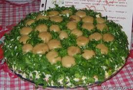 Картинки по запросу салат Грибная поляна