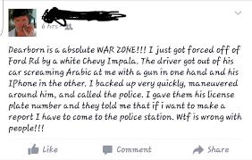 scenario question someone brandishing a gun