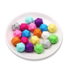 <b>TYRY</b>.<b>HU 20pcs</b>/lot Baby Teether Teething Beads For Necklace ...