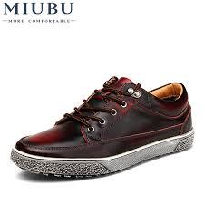 <b>MIUBU High Quality</b> Hot Sale <b>Men</b> Vintage Genuine Leather Shoes ...