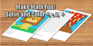 Coloring <b>Squared</b>- Free Math Coloring Pages