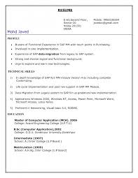 sample resume sap experience sap abap resume samples sap abap trainer resume sample