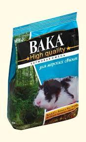 <b>Вака High Quality</b> сухой <b>корм</b> для морских свинок в интернет ...
