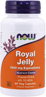 Now Supplements, Royal Jelly 1500 Mg With 10-Hda ... - Amazon.com