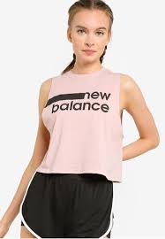 Buy New Balance <b>Relentless Crop Novelty Tank</b> Top Online ...