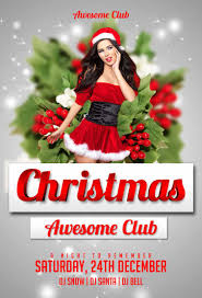 christmas flyer template com christmas party flyer template preview