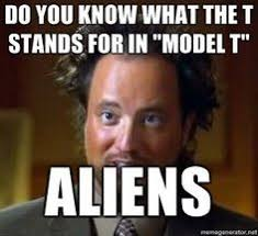 Lol! Kevin and I watched Ancient Aliens all the time in AK. We ... via Relatably.com
