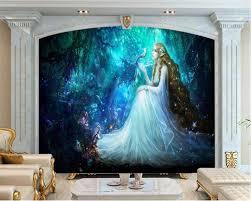 <b>Beibehang</b> Custom <b>3d</b> Photo <b>Wallpaper</b> Fantasy Fairyland - Big Wall ...