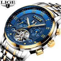 <b>LIGE mechanical</b> watch 47