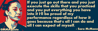 Motivational Quotes with Pictures: Sara McMann on being proud of ...