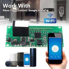 <b>Sonoff SV</b> 1 Line <b>Wifi Smart</b> Switch Modified Part Work With Alexa ...