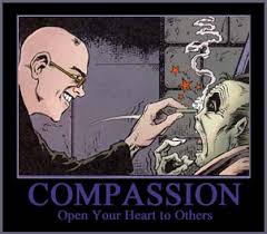 Why is there little evident compassion on SH? via Relatably.com