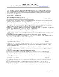 example summary for resume  seangarrette cosample summary resume retail buyer resume   example summary for resume