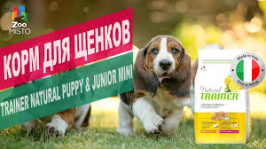 <b>Корм</b> для щенков <b>Trainer Natural</b> Puppy&Junior | Обзор <b>корм</b> для ...