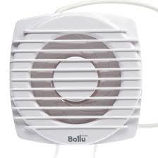 <b>Вентилятор вытяжной Ballu</b> Fort Alfa FA-100, d=100 мм, белый ...
