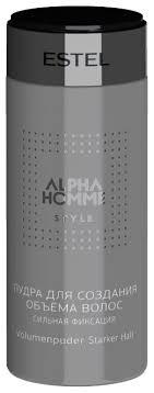 ESTEL <b>Пудра для создания</b> объема волос Alpha Homme ...