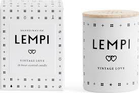 <b>Свеча ароматическая SKANDINAVISK</b> LEMPI с крышкой 55 г
