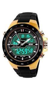 Skmei 1016 <b>Gold</b> Wrist <b>Watch</b> - <b>Original</b> at Rs 290 /unit | <b>Fashion</b> ...