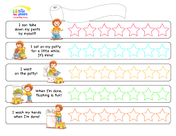 best images of sample potty training charts potty training potty training sticker reward chart