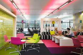 colorful office design best office space design