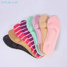 <b>1 Pair 4D Sport</b> Sponge Soft Insole High Heel Shoe Pad Pain Relief ...