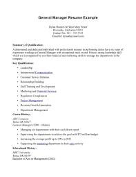 restaurant general manager duties resume cipanewsletter general manager duties resume equations solver