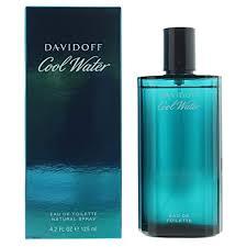 Davidoff <b>Cool Water For Men</b>. Eau De Toilette Spray 4.2 Ounces ...