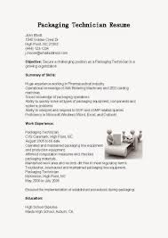 resume for manufacturing job sample customer service resume resume for manufacturing job job search job resume samples packaging technician resume sample